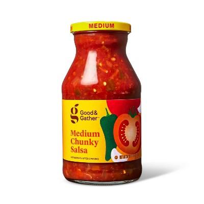 Medium Chunky Salsa 24oz - Good & Gather™