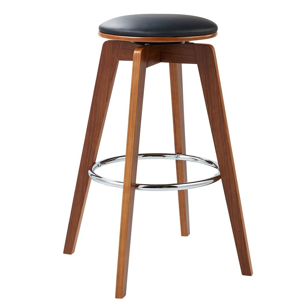 Admirable Elegante Bentwood Set Of 2 Bar Stools Black Versanora Dailytribune Chair Design For Home Dailytribuneorg