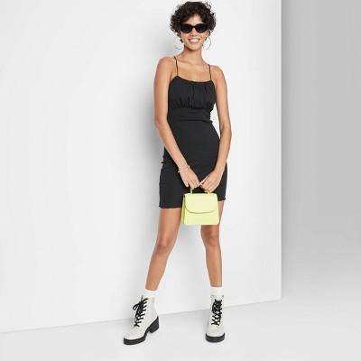 Women's Sleeveless Milkmaid Knit Bodycon Dress - Wild Fable™