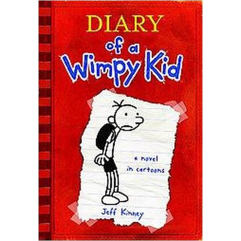 Diary of a Wimpy Kid (Hardcover) by Jeff Kinney - image 1 of 1