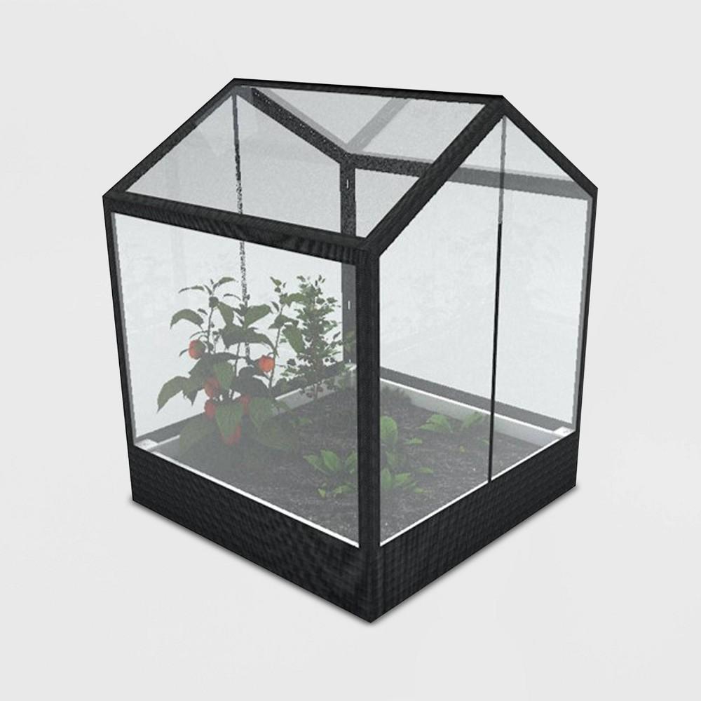 78 Keyhole Greenhouse White - New England Arbors