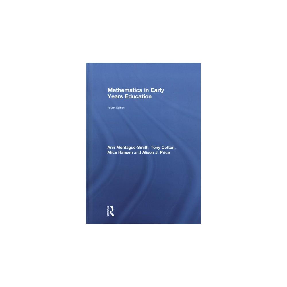Mathematics in Early Years Education (Hardcover) (Ann Montague-Smith & Tony Cotton & Alice Hansen &