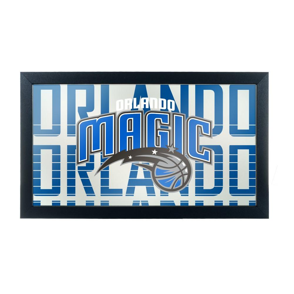 NBA Orlando Magic City Framed Logo Mirror