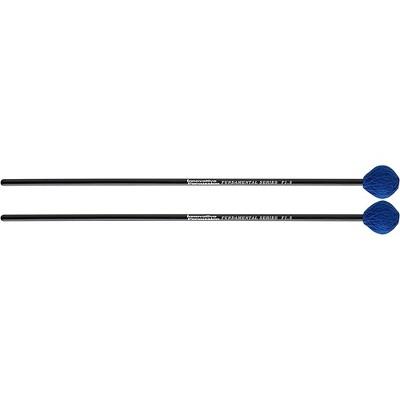 Innovative Percussion Fundamental Series Medium-Soft Marimba Mallet Medium Blue Yarn