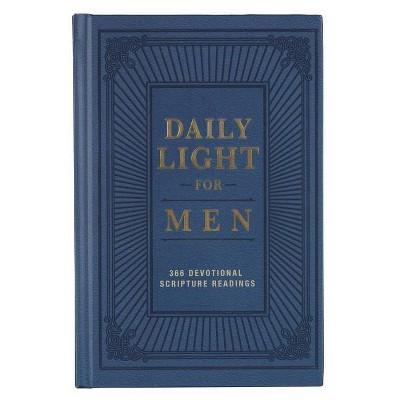 Devotional Daily Light for Men Hc - (Hardcover)