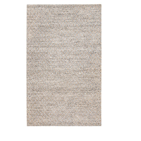 Sigis Soft Jute And Polyester Woven Rug