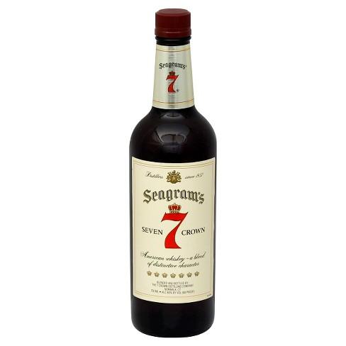 Seagram's® 7 Crown American Whiskey - 750mL Bottle - image 1 of 1