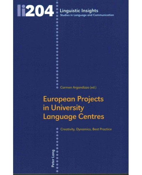 European Projects in University Language Centres (Paperback) - image 1 of 1