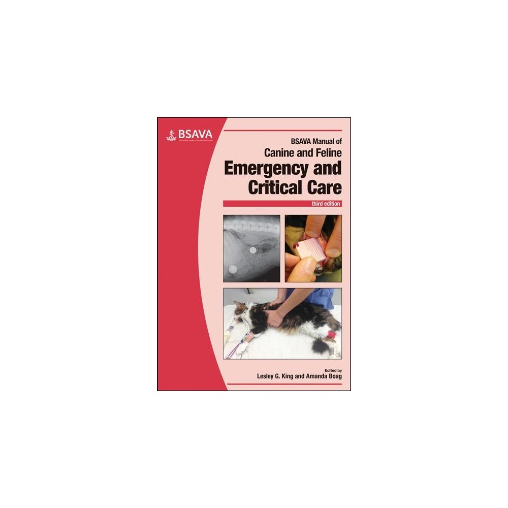 Bsava Manual of Canine and Feline Emergency and Critical Care - 3 (Paperback)