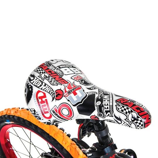 """Hot Wheels 16"""" Kids' Bike - Black/Red, Boy's"" image number null"