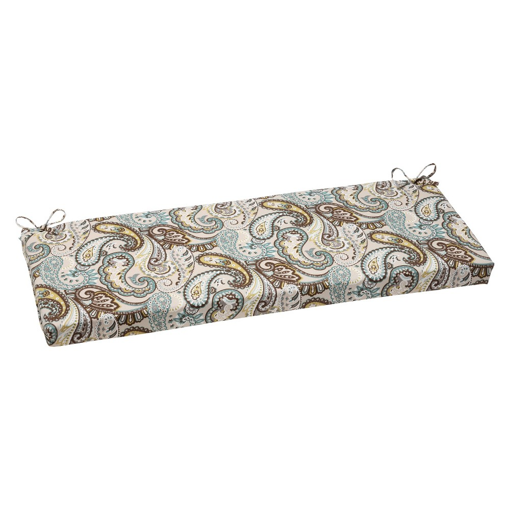 Outdoor Bench Cushion - Tamara Paisley - Pillow Perfect