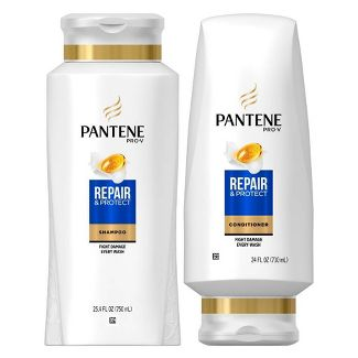 Pantene Pro-V Repair & Protect Shampoo and Conditioner Dual Pack - 49.4 fl oz
