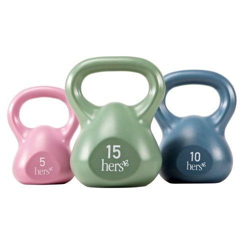 Marcy 30 lb. Kettle Weight Set (VKBS30) - image 1 of 3