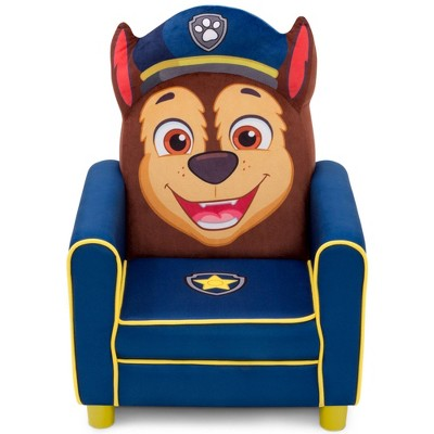 PAW Patrol Chase Figural Upholstered Kids' Chair - Delta Children