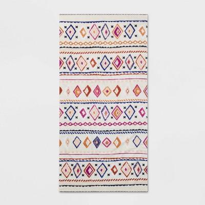 Moroccan Geo Beach Towel - Opalhouse™