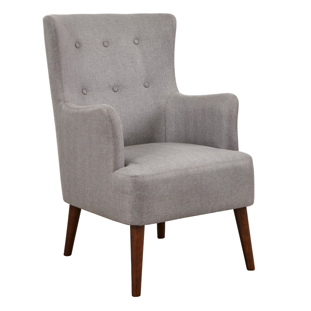 Jane Chair Gray Flannel - angelo:Home