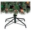 7.5ft Pre-lit Artificial Christmas Tree Slim Virginia Pine Multicolored Lights - Wondershop™ - image 3 of 4