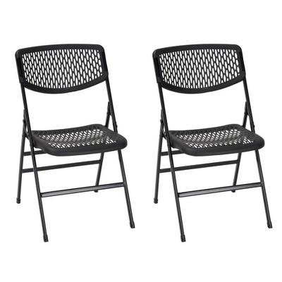 Cosco 2pk Commercial Resin Mesh Folding Chair