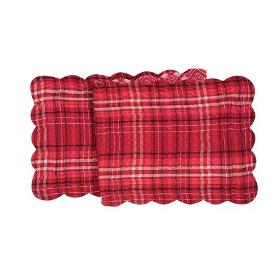 """C&F Home 14"""" x 51"""" Andrew Red Table Runner"""