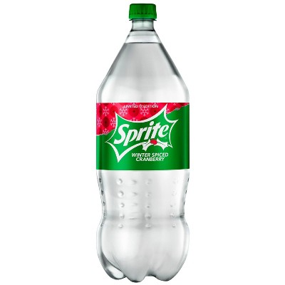 Sprite Winter Spice Cranberry - 2L Bottle
