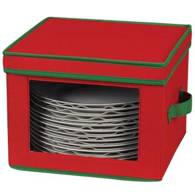 Household Essentials Holiday Dinner Plate Storage