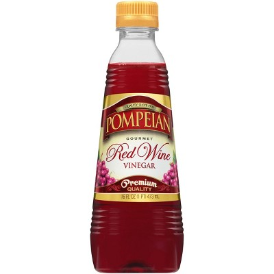 Pompeian Red Wine Vinegar - 16 fl oz