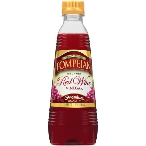Pompeian Red Wine Vinegar - 16 fl oz - image 1 of 4