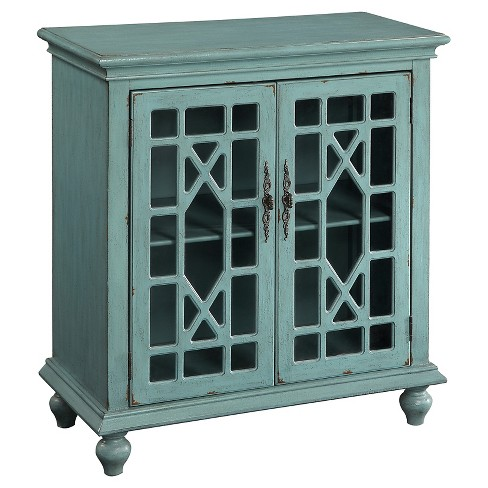 Storage Cabinet Bayberry Blue - Treasure Trove - image 1 of 2