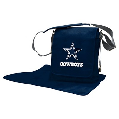 Dallas Cowboys LilFan Diaper Messenger Bag