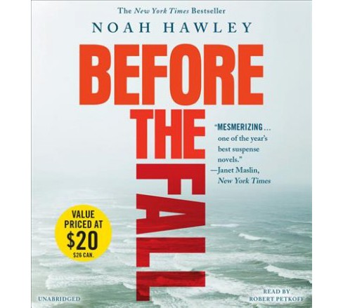 Before the Fall -  by Noah Hawley (CD/Spoken Word) - image 1 of 1