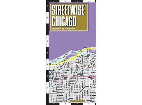 Streetwise Chicago : City Center Street Map of Chicago, Illinois -  (Paperback) - image 1 of 1
