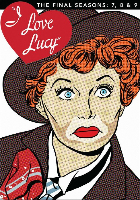I Love Lucy: The Final Seasons - 7, 8 & 9 [4 Discs] - image 1 of 1