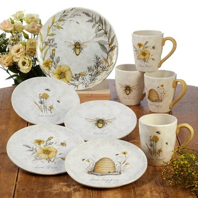 Sweet As A Bee Dinnerware Collection - Certified International