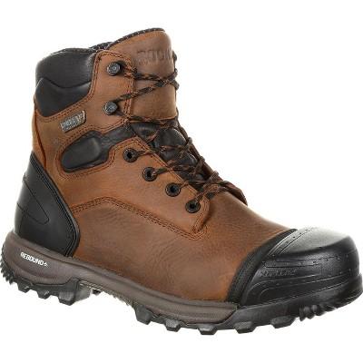 Men's Rocky XO-Toe Composite Waterproof Work Boot