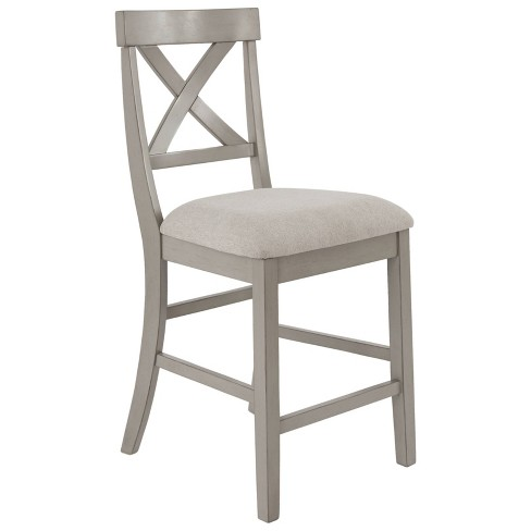 Set of 2 Parellen Upholstered Counter Height Barstools Gray - Signature Design by Ashley - image 1 of 4