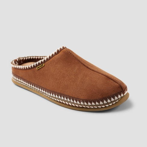 Men's Deer Stags Wide Width Wherever Slide Slippers - Chestnut - image 1 of 4