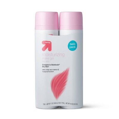 Womens Dry Shaving Cream & Gels Twin Pack - 14oz - up & up™