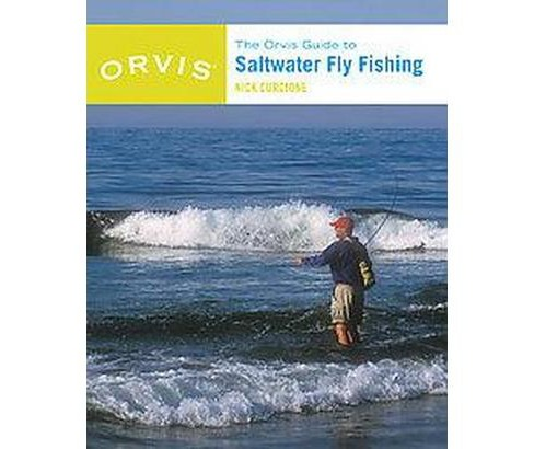 Orvis Guide to Saltwater Fly Fishing (New / Revised) (Paperback) (Nick Curcione) - image 1 of 1