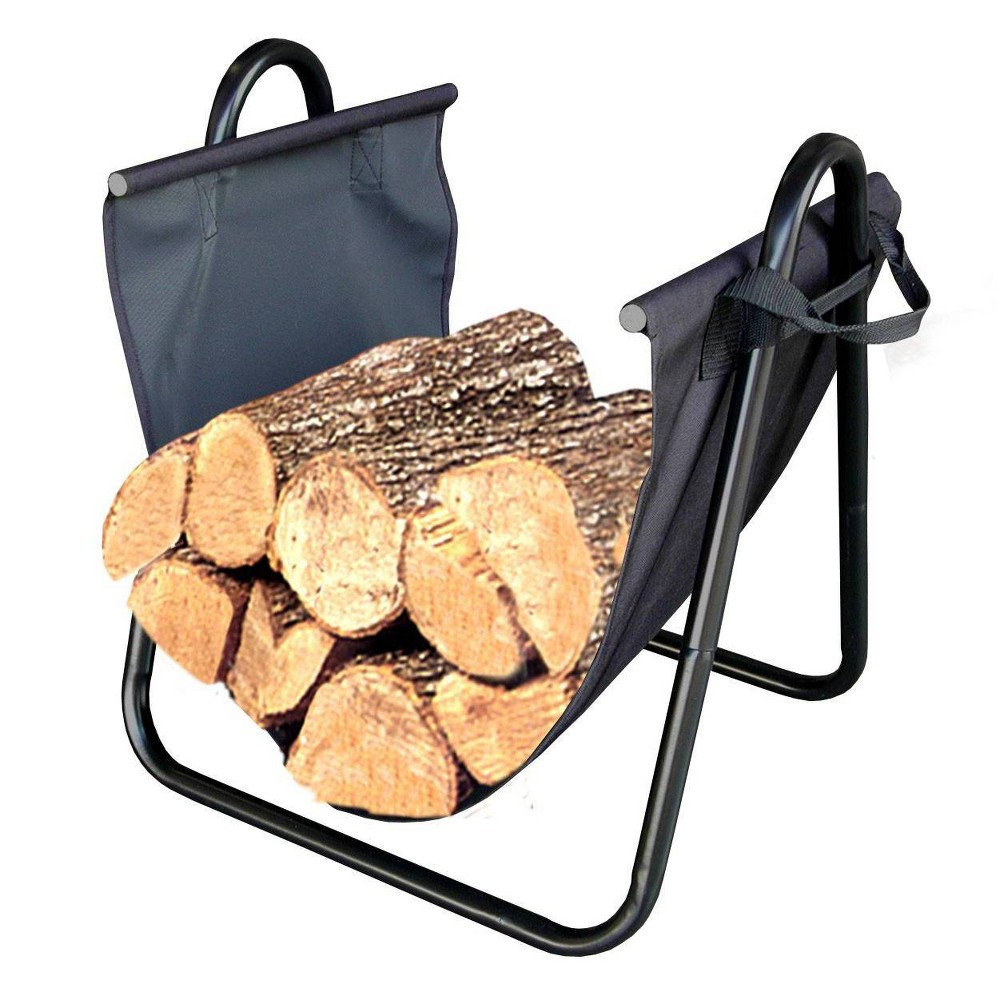 Image of Firewood Canvas Log Carrier - Landmann