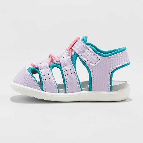 f1d64342167d Toddler Girls  See Kai Run Basics Spencer Fisherman Sandals - Lavender    Target