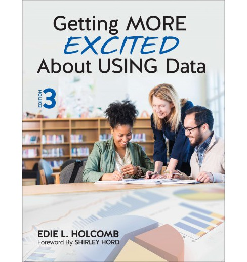 Getting More Excited About Using Data (Paperback) (Edie L. Holcomb) - image 1 of 1