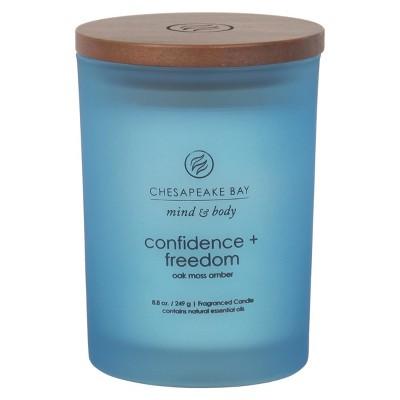 Medium Jar Candle Oak Moss Amber 8.8oz - Chesapeake Bay Candle®