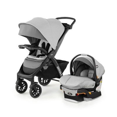Chicco Bravo LE Travel System 2.0 Driftwood