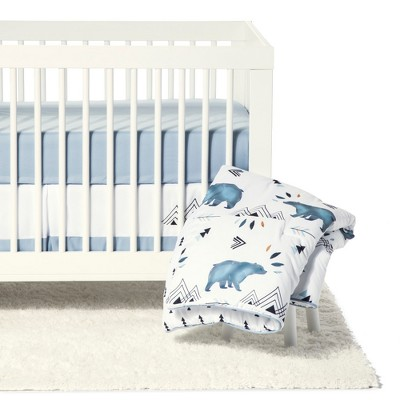 Sweet Jojo Designs Crib Bedding Set - Bear Mountain - 11pc
