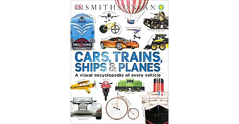 Cars, Trains, Ships, & Planes (Hardcover) (Clive Gifford) - image 1 of 1