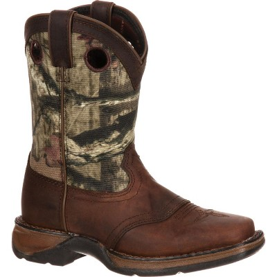 LIL' DURANGO Toddler Boys' Camo Saddle Western Boot