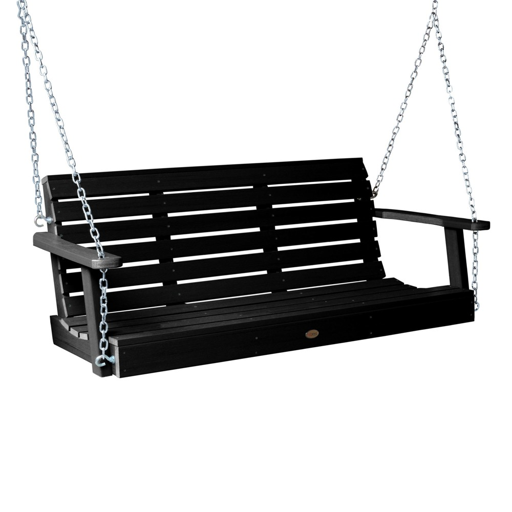 Weatherly Porch Swing 4ft Black - Highwood