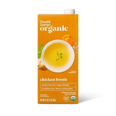Organic Chicken Broth - 32oz - Good & Gather™