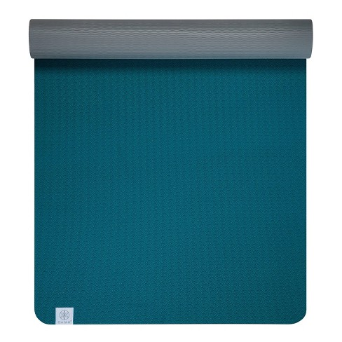 Gaiam Performance Tpe Yoga Mat Blue 6mm Target