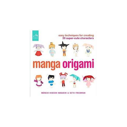 Manga Origami Paperback Marcio Hideshi Noguchi Target